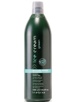 Shampoing hydratant GREEN sans paraben INEBRYA 1l