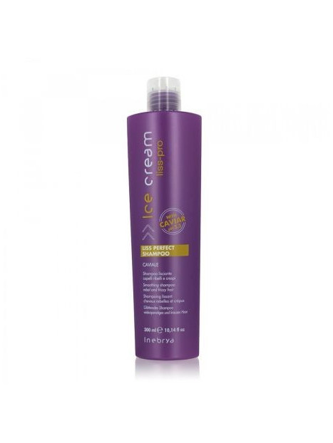 Shampoing lissant cheveux rebelles et crépus LISS PERFECT INEBRYA 300 ML