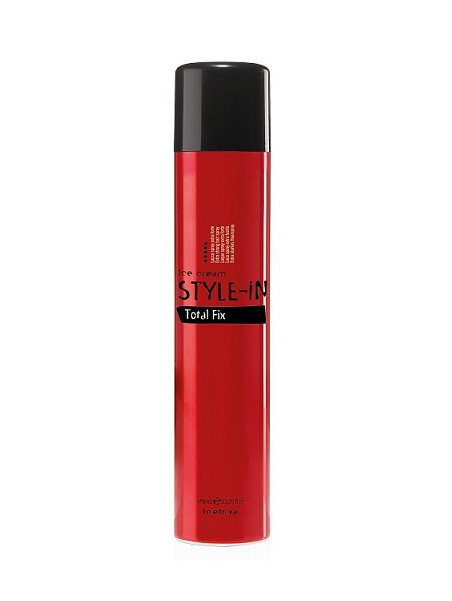 Spray fixation extra forte STYLE IN  TOTAL FIX INEBRYA 750 ML