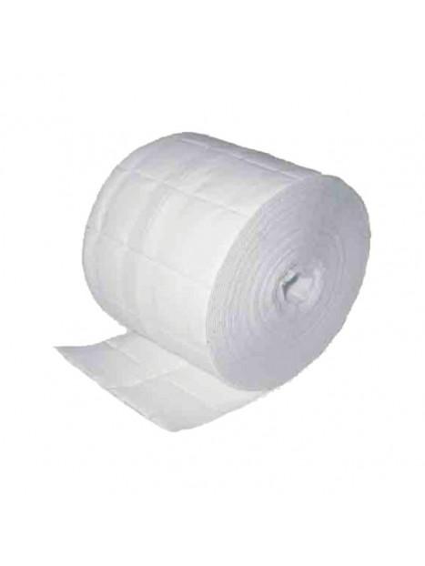 Coton de Cellulose Pack de 2 Rouleaux (5x4cm)  de 500 carrés