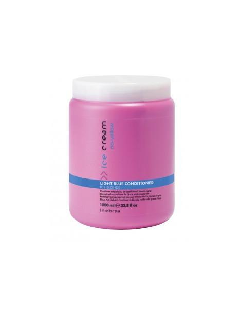 Aprés-shampoing conditioner anti-jaunissement Light Blue Inebrya 1 litre