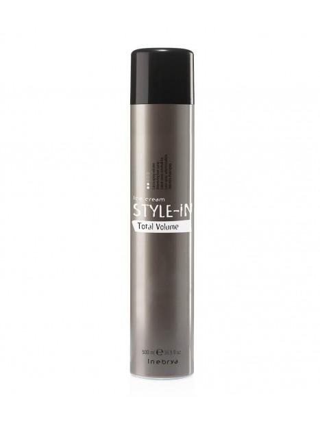 Spray volume TOTAL VOLUME STYLE-IN INEBRYA 500 ml