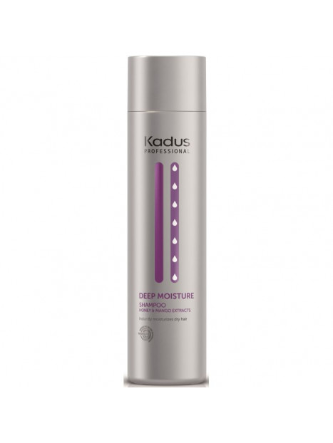 Shampoing cheveux secs DEEP MOISTURE KADUS 250ML