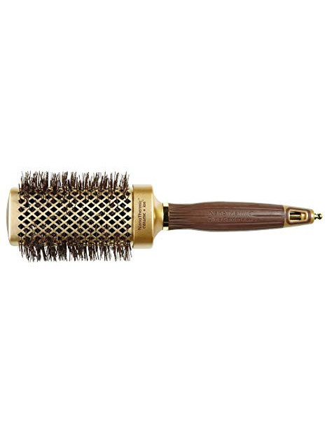 Brosse brushing Nano-Thermique carre doré Olivia Garden 50mm