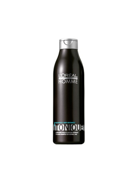 Shampoing revitalisant HOMME TONIQUE L'OREAL 250ML