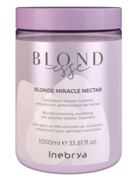 Soin cheveux BLONDESSE blonde miracle nectar INEBRYA 1 L