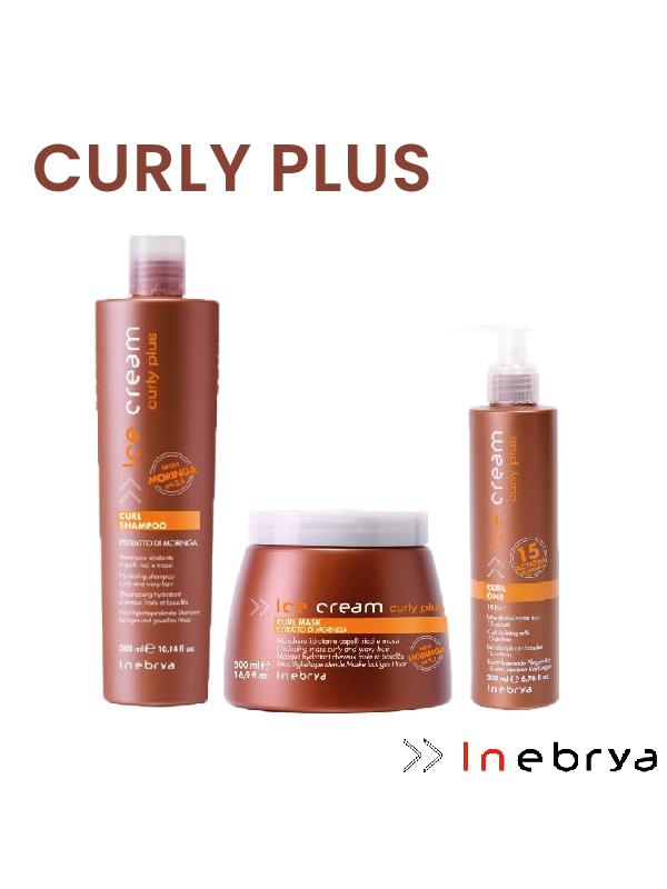 Kit cheveux bouclés Curly Plus Inebrya