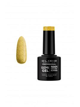Vernis semi-permanent 1001 Golden Glimmer ELIXIR 8ML