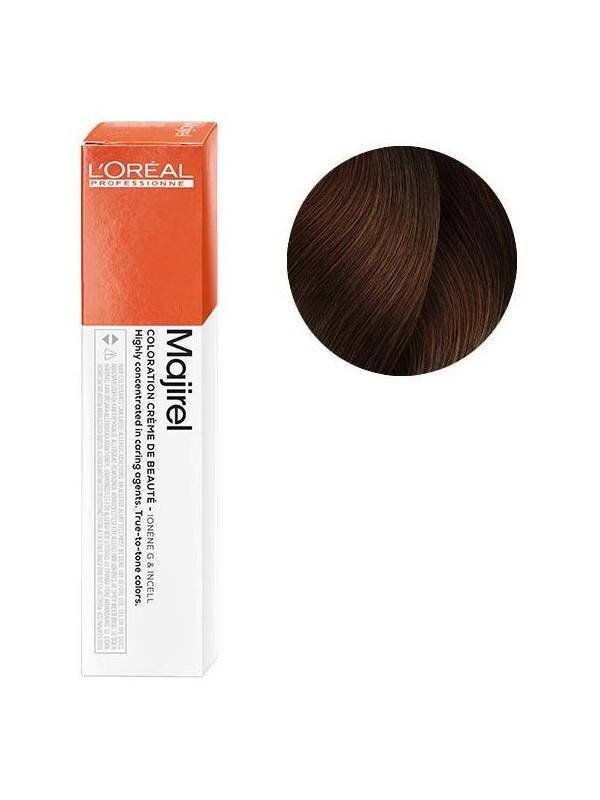 Coloration avec ammoniaque Majirel n°5.4 Châtain clair cuivré de L'Oréal Professionnel