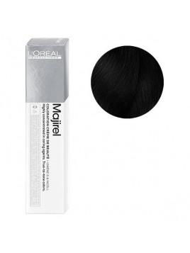 Coloration avec ammoniaque Majirel n°1 Noir de L'Oréal Professionnel